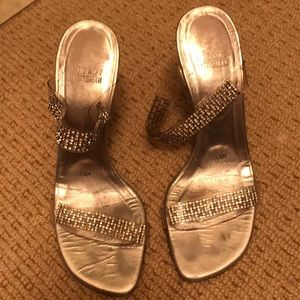 Stuart Weitzman sparkle heels